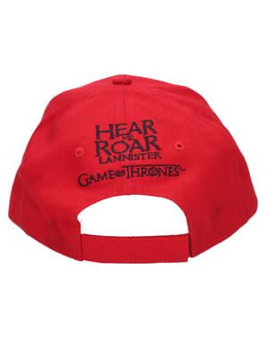 Гра престолів Ленністер логотип шапка