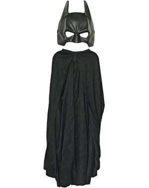 Batman Mask & Cape Kids Size