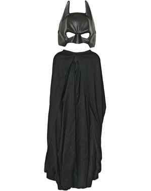 Batman Maske og Kappe Barnestørrelse
