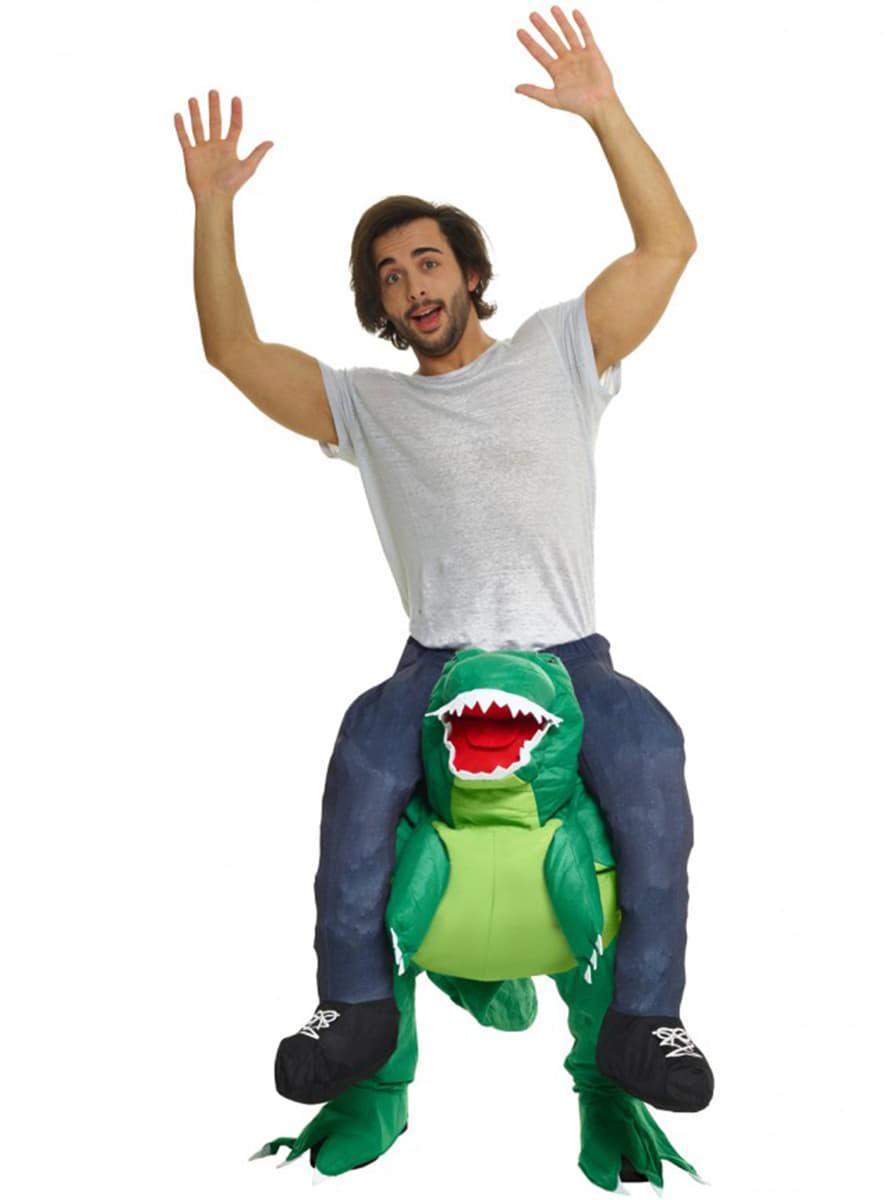 d guisement porte moi sur les paules d 39 un dinosaure livraison 24h funidelia. Black Bedroom Furniture Sets. Home Design Ideas