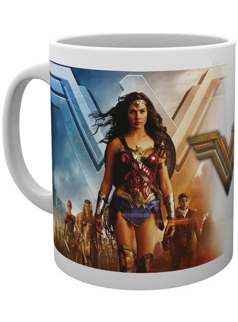 Wonder Woman Group Mug