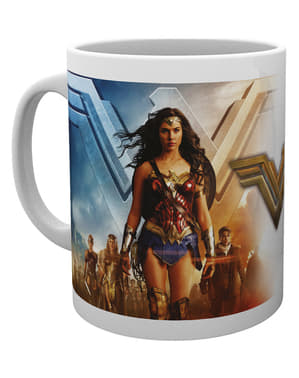Hrnek Wonder Woman skupina