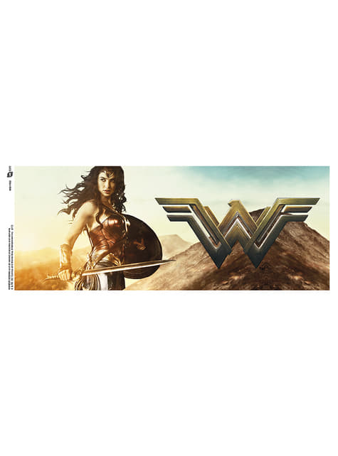 Taza de Wonder Woman Sword - oficial