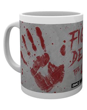 The Walking Dead käden jäljet -muki