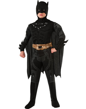 The Dark Knight Rises Batman lysande Maskeraddräkt Barn
