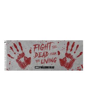 Ходьба мертвих рука друкує гуртка