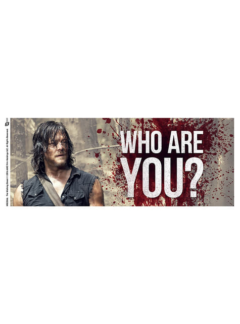 Tasse Walking Dead Who are you
