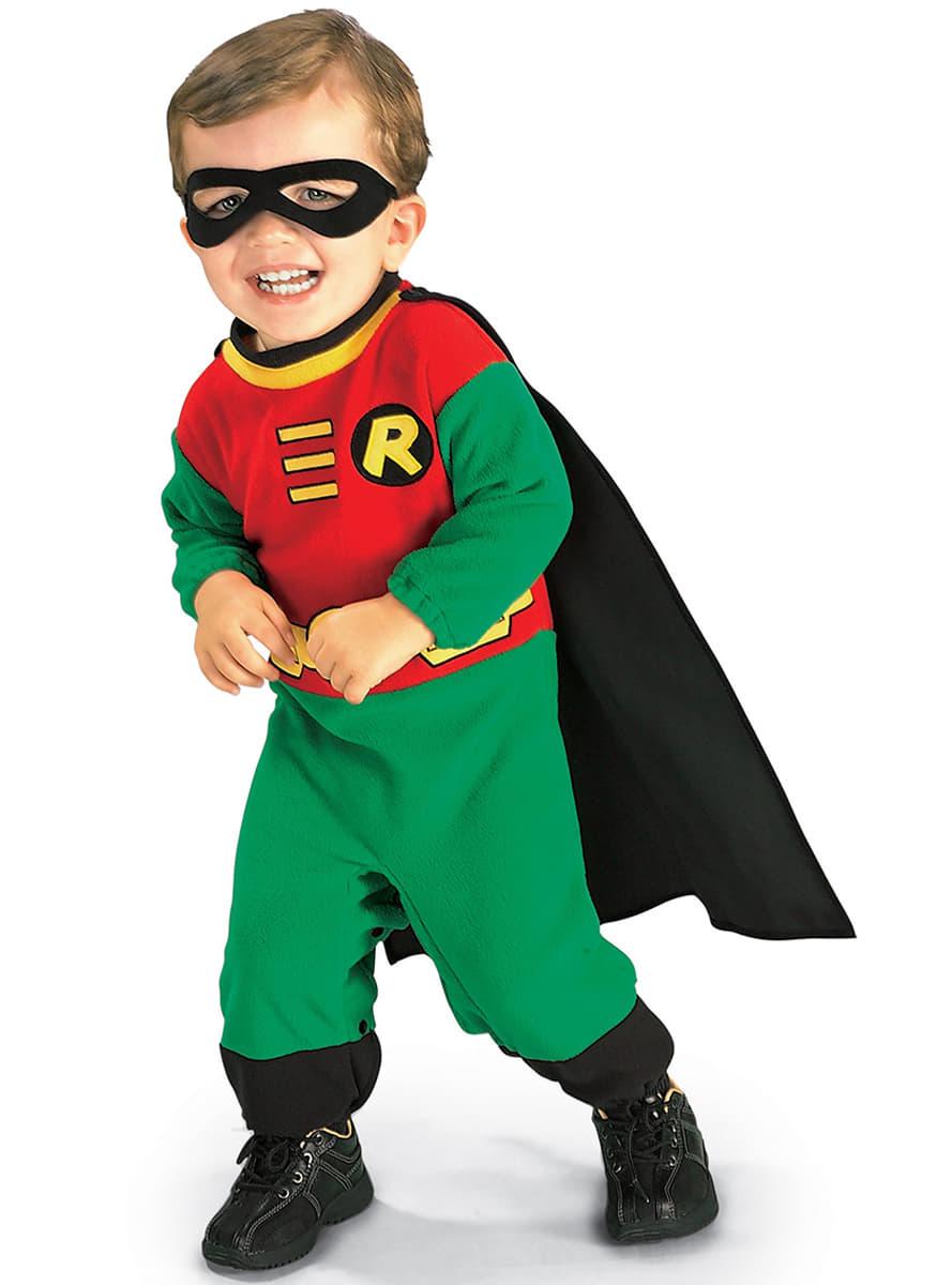 Costume de robin batman pour b b livraison 24h funidelia - Image de batman et robin ...
