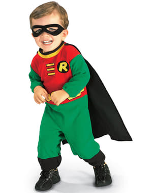 Déguisement de Robin Batman pour bébé Classic