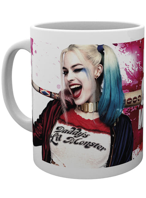 Harley Quinn Wink mug
