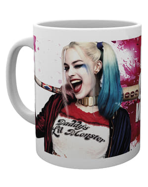 Mugg Harley Quinn Wink