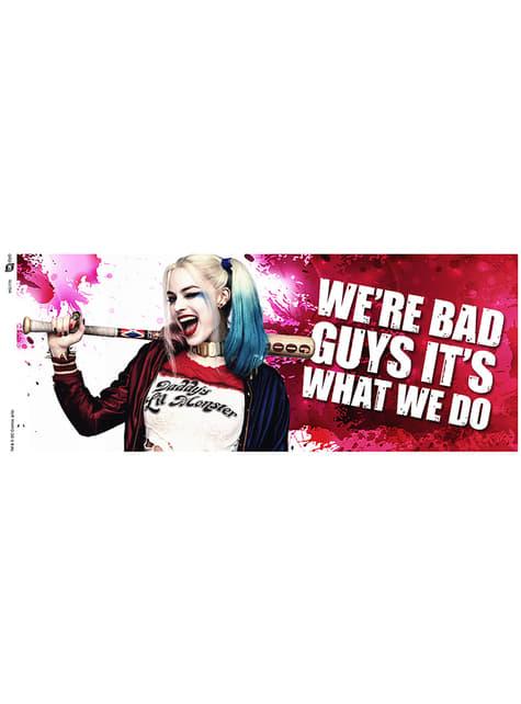 Harley Quinn Knipoog mok
