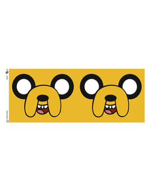 Hrnek Adventure time Jake obličej