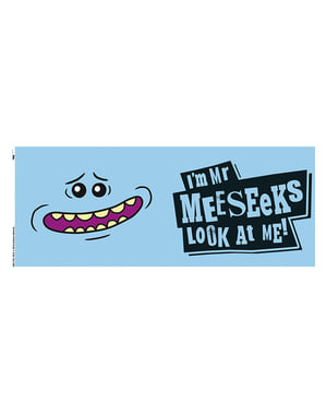 Caneca de Rick and Morty Mr Meeseeks
