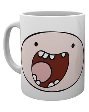 Adventure Time krus med Finns ansigt