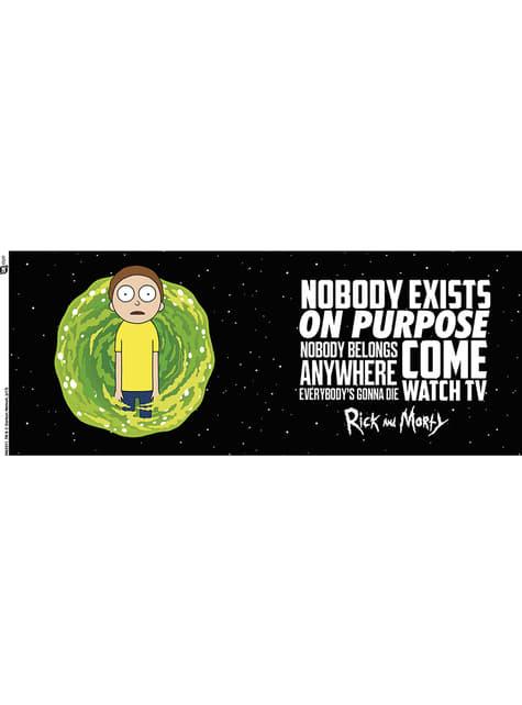 Taza de Rick y Morty Nobody Exists