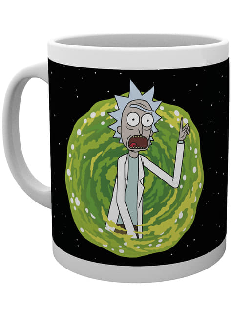 Rick and Morty Your Opinion Mug