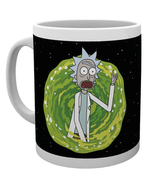 Taza de Rick y Morty Your Opinion