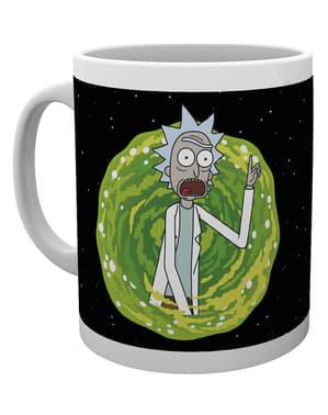 Taza de Rick y Morty Your Opinion