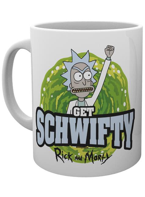 Rick and Morty Get Schwiffy Mug