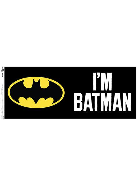 Taza de Batman Logo - oficial
