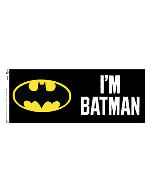 Mugg Batman logga