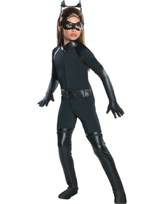 Déguisement catwoman haut de gamme pour fille