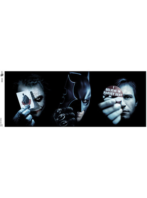 Caneca de Batman (The Dark Knight) Trio