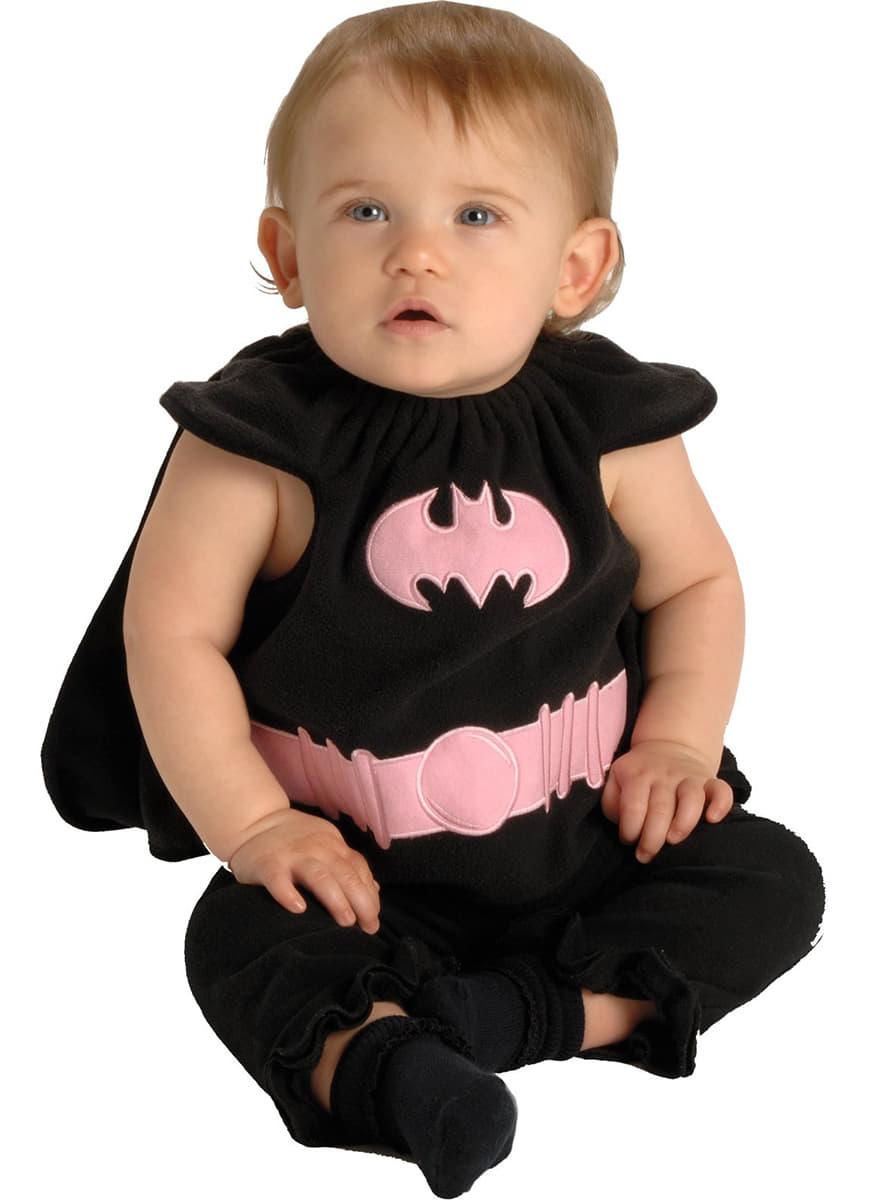 costume de batgirl pour b b funidelia. Black Bedroom Furniture Sets. Home Design Ideas