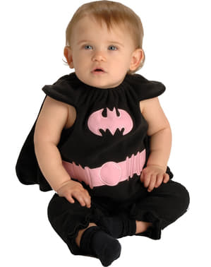 Costum Batgirl pentru bebeluși