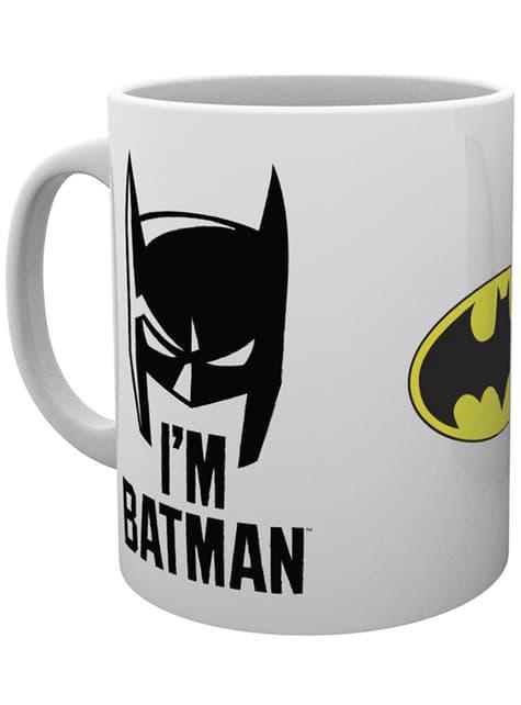 Taza de Batman Comic I'm Batman Cowl