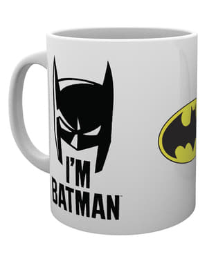 Taza de Batman Comic I'm Batman Cowl