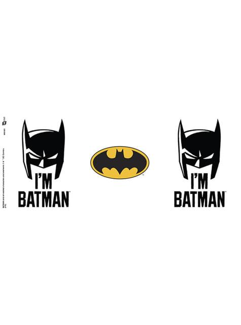 Taza de Batman Comic I'm Batman Cowl - oficial
