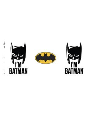 Caneca de Batman Comic I'm Batman Cowl