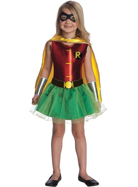 Mädchenkostüm Robin aus Batman