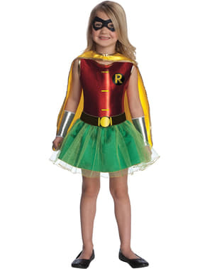 Batman's Robin Girl Kids Costume