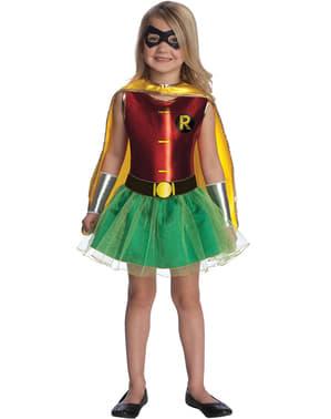 Fato de Robin Batman para menina
