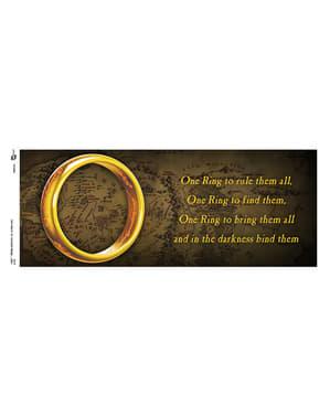 Caneca de O Senhor dos Anéis One Ring