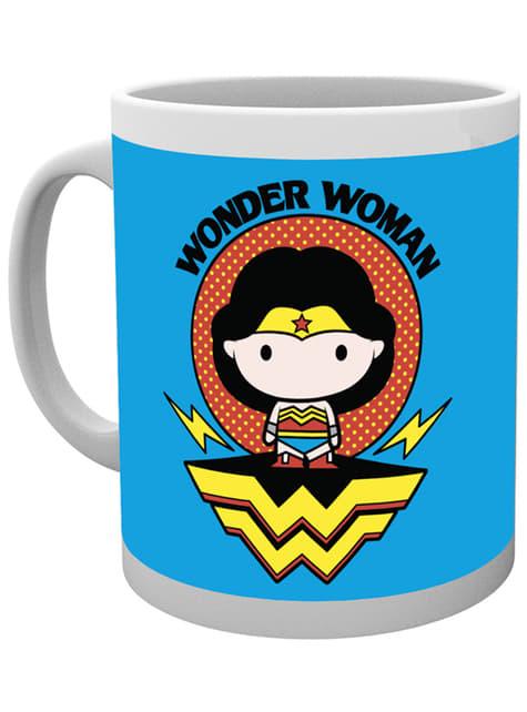 Taza de Wonder Woman Chibi