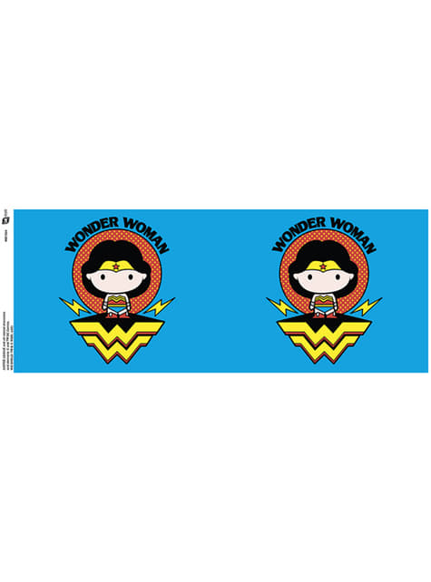Caneca de Justice League Wonder Woman Chibi