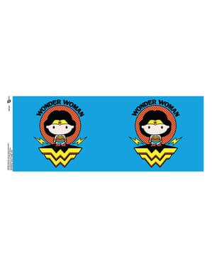 Oikeuden Puolustajat Wonder Woman chibi -muki