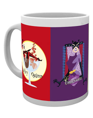 DC Comics Quad Gotham Girls Mug