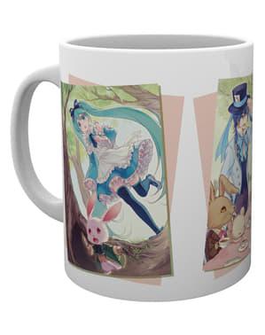 Caneca de Hatsune Miku Wonderland