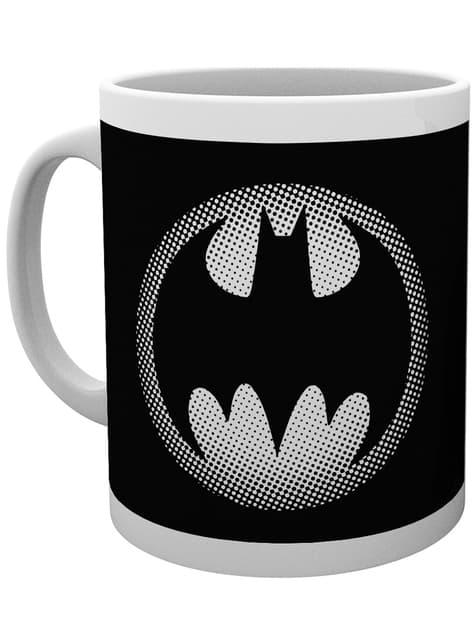 Taza de DC Comics Batman Monotone Logo