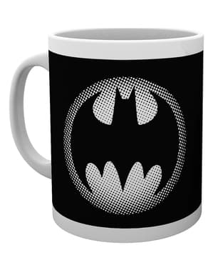 DC Comics Batman Monotone Logo Mug