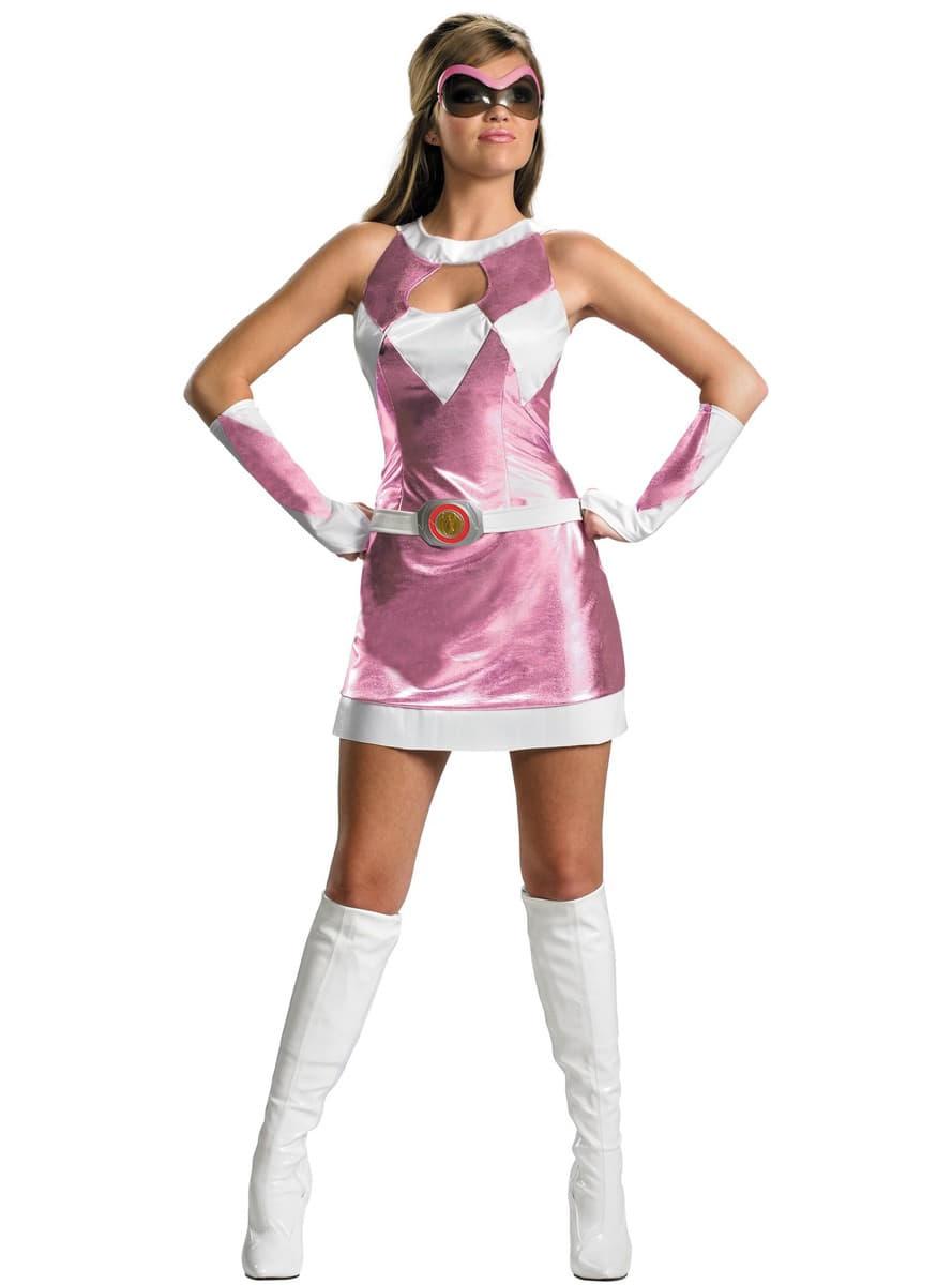 Disfraz De Power Rangers Rosa Sexy Funidelia