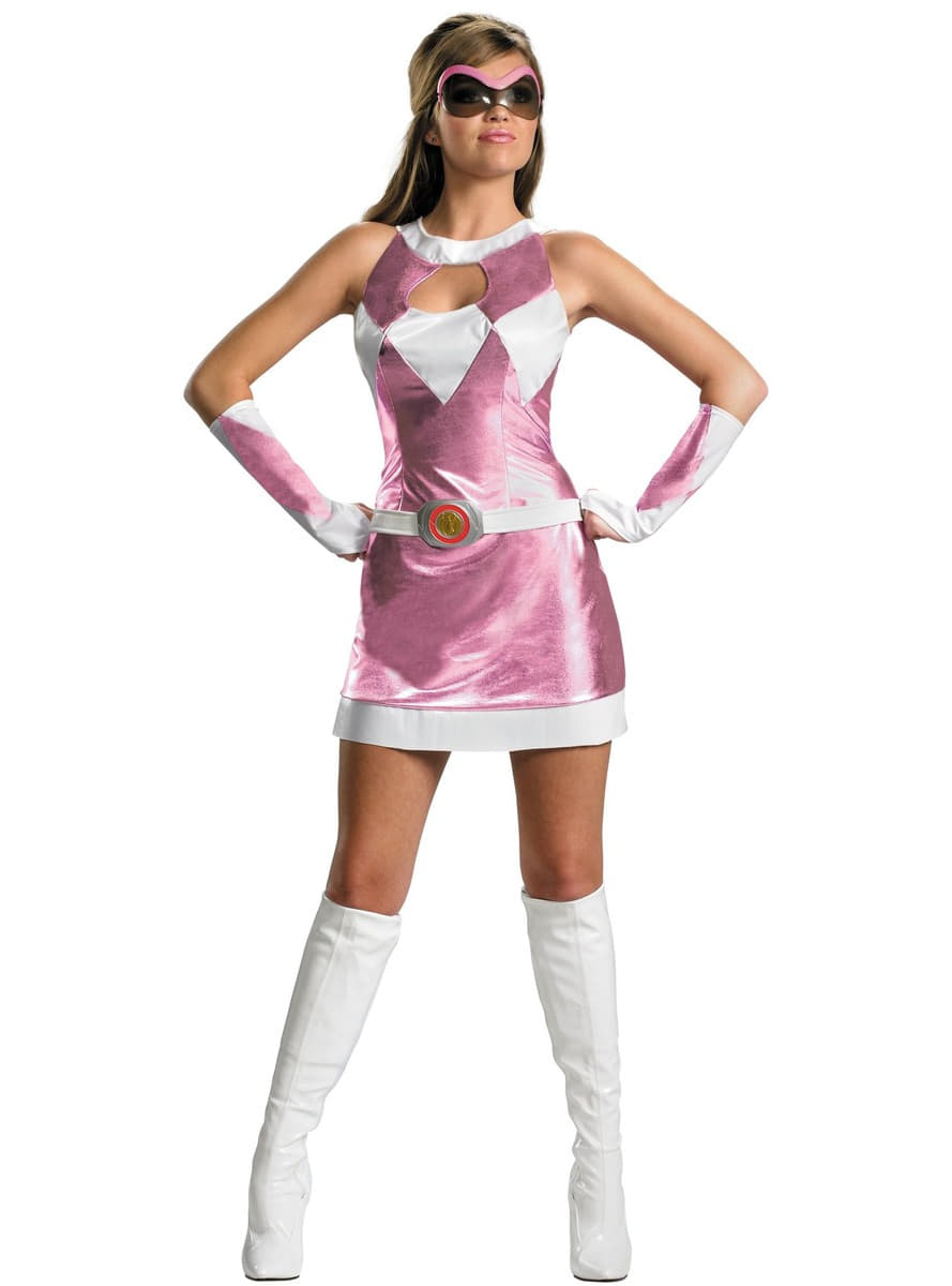 Sexy Pink Power Ranger Adult Costume. Detalle Zoom  sc 1 st  Funidelia & Sexy Pink Power Ranger Adult Costume. The coolest | Funidelia