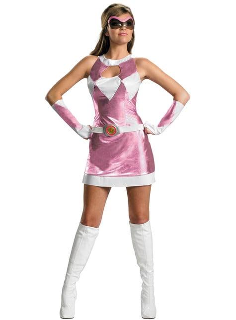 Disfraz de Power Rangers Rosa sexy