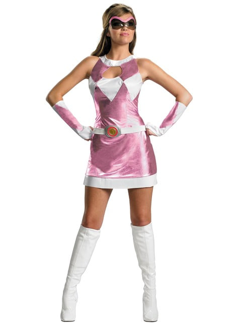 Sexy Pink Power Ranger Adult Costume