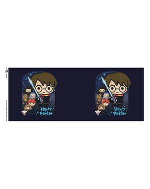 ספל עם דמויות של הארי פוטר